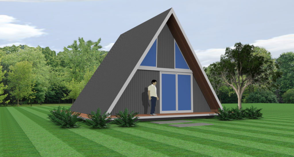 A frame with loft kit homes by Bribuild
