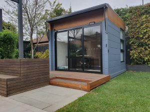 the malvern backyard pod by BRIbuild