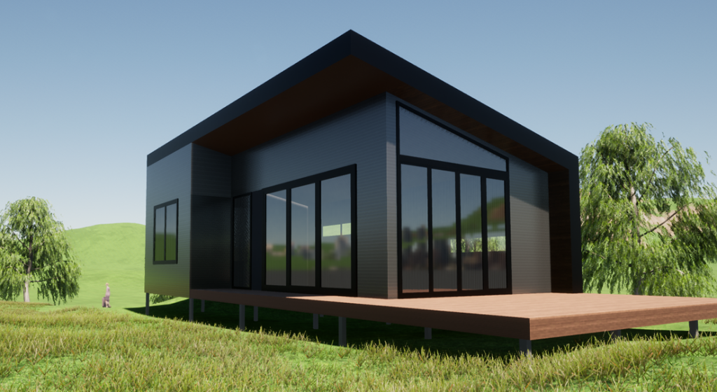 2 Bedroom Steel Frame Kit home by BRIbuild