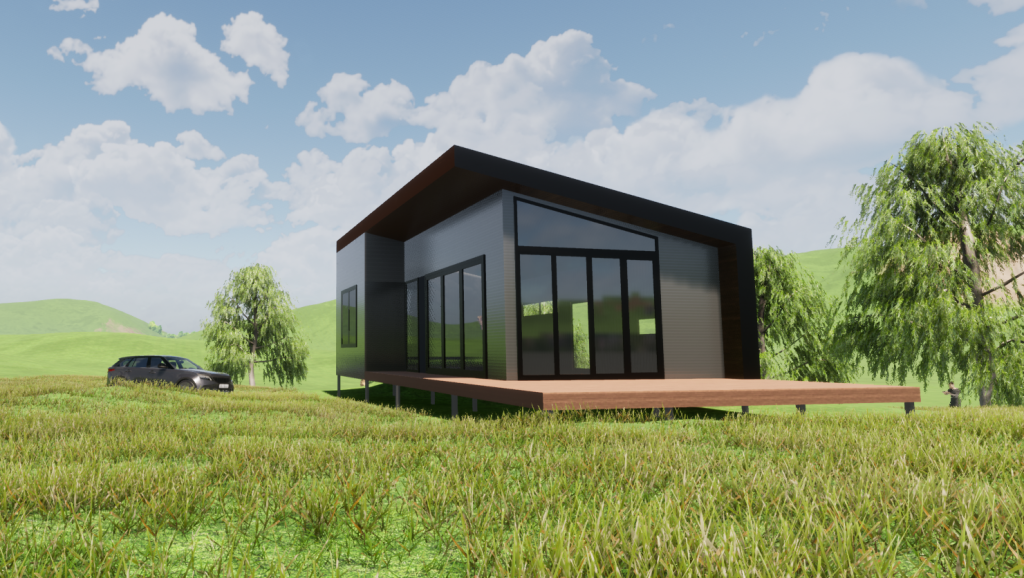 Narracan Steel Frame Kit Homes